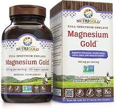 NutriGold, Magnesium Gold, 120 Caps