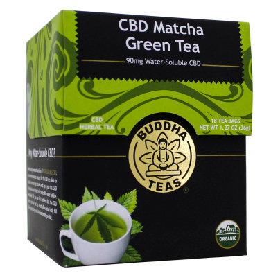 Buddha Teas, CBD Matcha Green