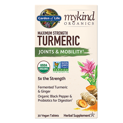 GOL, Turmeric Maximum Strength 30 V Tabs