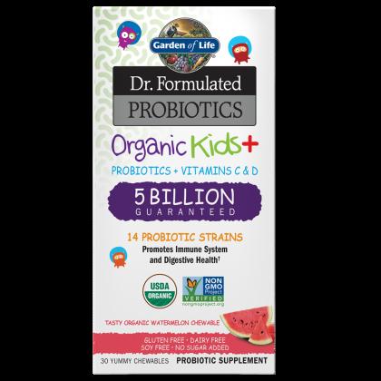 Dr.Formulated, Organic Kids Probiotics Watermelon