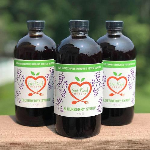 All Things Elderberry, Elderberry Elixir 16 oz