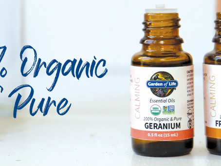 100% Organic & Pure Essential Oils