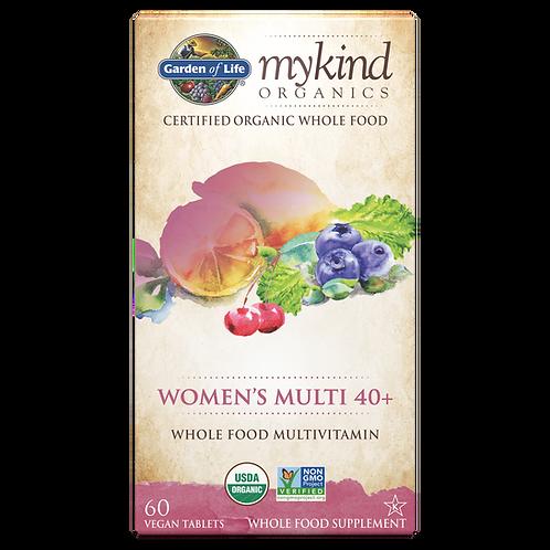 mykind Organics Women's 40+ Multi 60 CNT