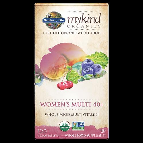 mykind Organics Women's Multi 40+ 120 tabs