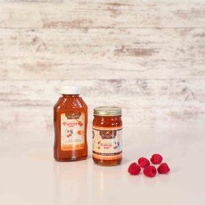 Raspberry Flavored Honey 11oz