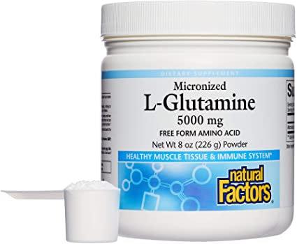 Natural Factor, L-Glutamine, 5000mg