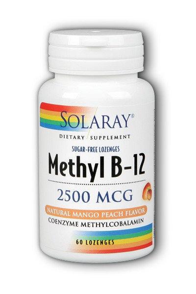 Methyl B-12, 2500, 60ct