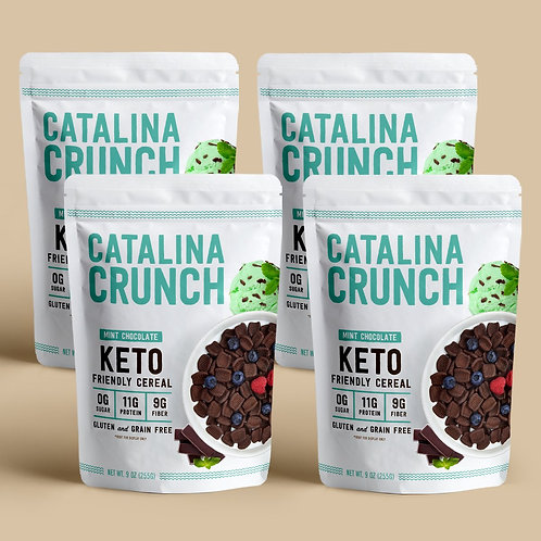 Catalina Crunch Cereal Mint Chocolate Chips