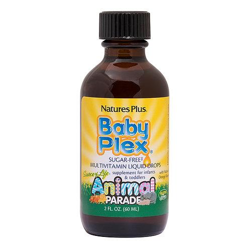 Natures Plus,  Animal Parade® Baby Plex® Sugar-Free Liquid Drops