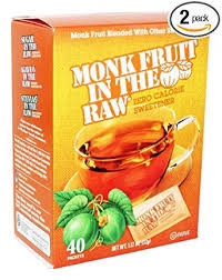 In The Raw Monk Fruit Keto Packets