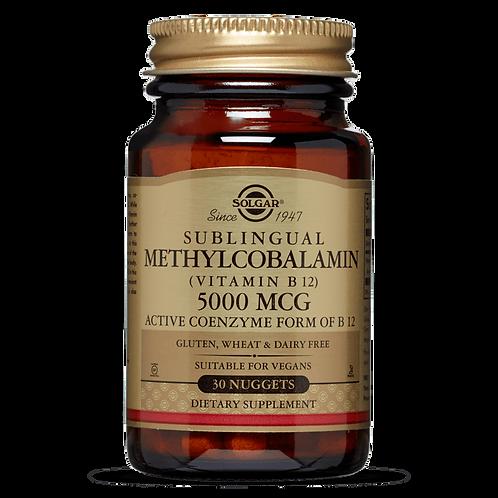Methylcobalamin (Vitamin B12) 5000 mcg Nuggets
