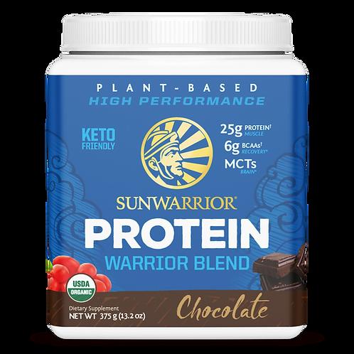 Sunwarrior, Warrior Blend, Chocolate 375 Gr