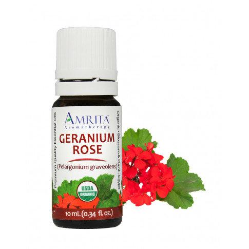 Amrita, Geranium Rose, ORG