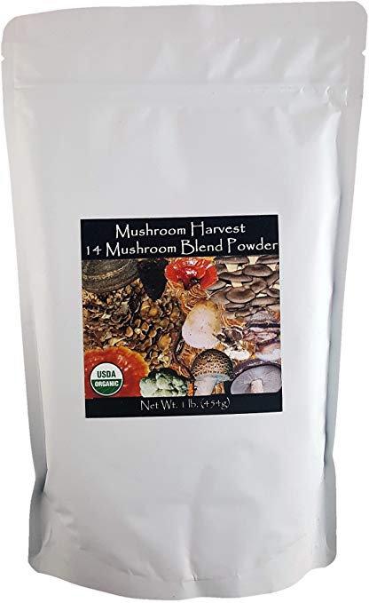 MH, 14 Mushrooms Blend Powder 1lb