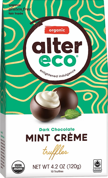 Alter Eco, MINT CRÈME TRUFFLES