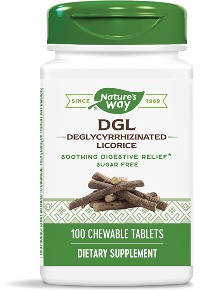 DGL-FF (Fructose Free/Sugarless) / 100 chew tabs