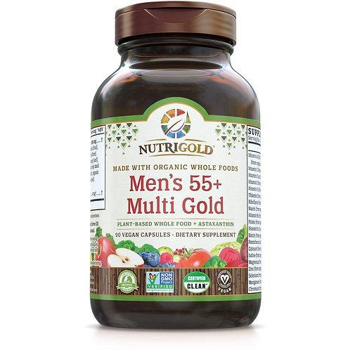 NutriGold, Men's Multi 55+, 90 caps