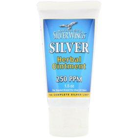 Colloidal Silver Herbal Ointment, 1.5 oz Tube
