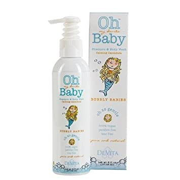 Devita Baby, Bubble Babies Shampoo Body Wash
