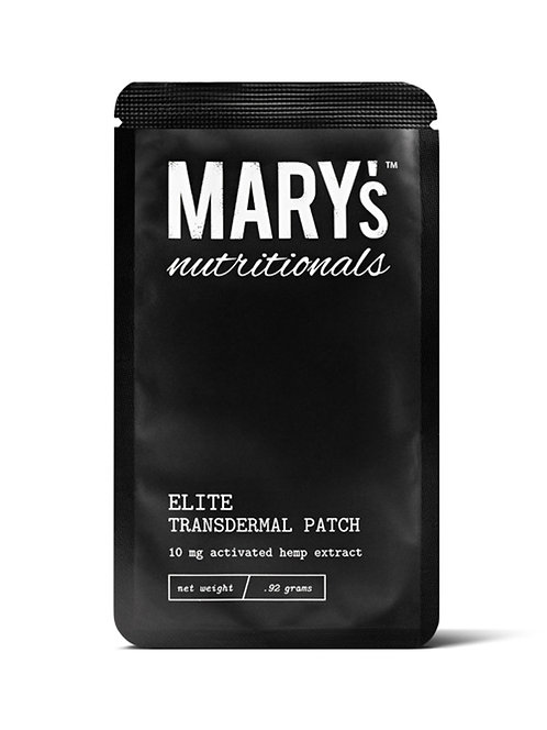 Mary's Naturals Elite Transdermal Patch 10mg