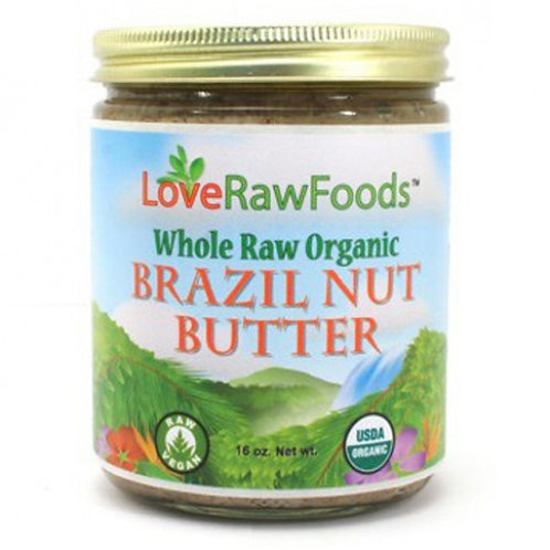 BMO, Brazil Nut Butter, Raw, Org, 16oz