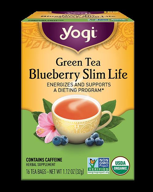 Yogi Tea Green Tea Blueberry Slim Life Tea