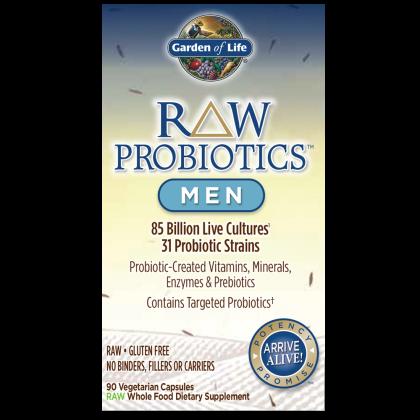 RAW Probiotics Men - 90ct. Capsule