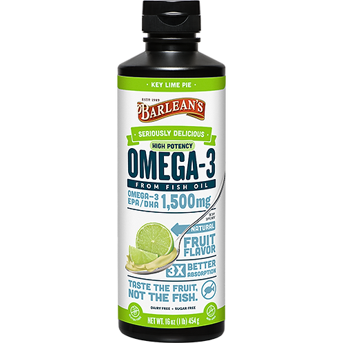 Seriously Delicious™ Omega-3 High Potency Fish Oil Key Lime Pie 16 oz.