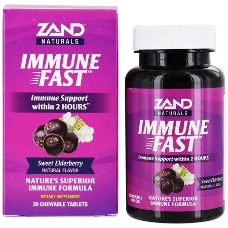Zand Immune Fast Chews Sweet Eldeberry 30 tablets