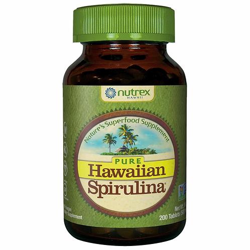 Nutrex, Hawaiian Spirulina 200tabs