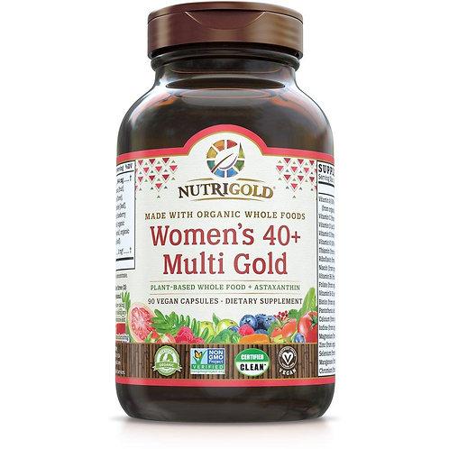NutriGold, Women's  Multi 40+, 90 Caps