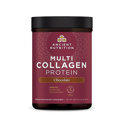 Dr. Axe, Multi Collagen Protein Chocolate