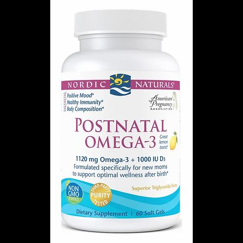 Nordic Naturals, Postnatal Omega-3, 60cnt.