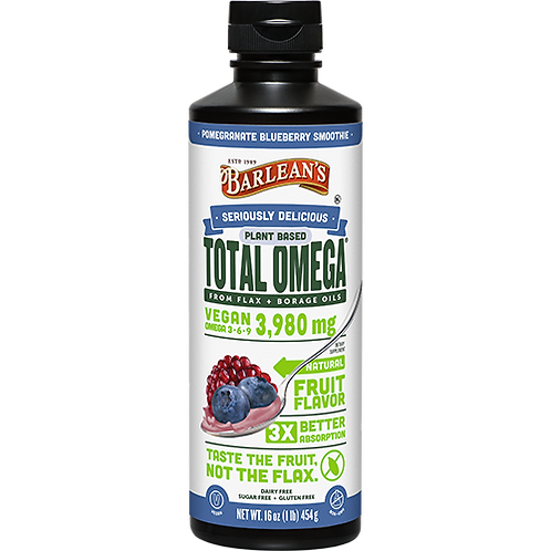 Seriously Delicious™ Omega-3 Total Omega Vegan Pomegranate Blueberry 16 oz