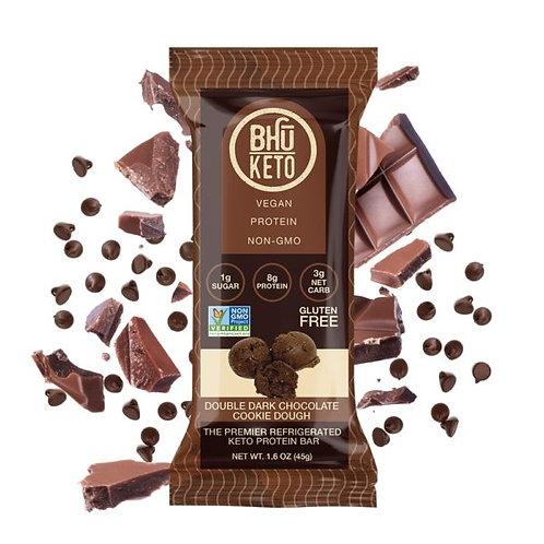 BHU Keto, Double Dark Chocolate Cookie Dough