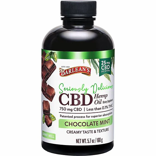 Seriously Delicious CBD Chocolate Mint 25mg