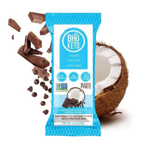 BHU Keto Vegan Chocolate Coconut Cookie Dough