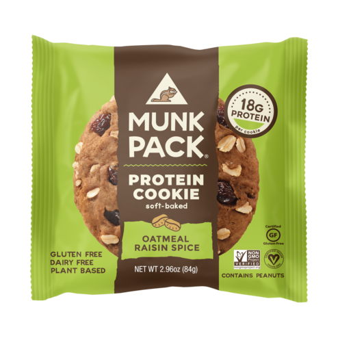 Munk Pack, Oatmeal Raisin Spice Protein Cookie