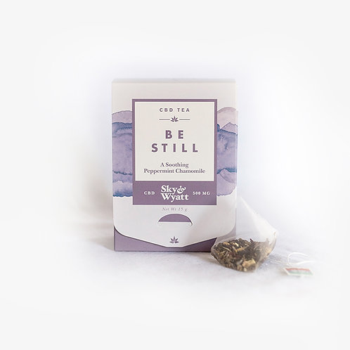 Be Still CBD Herbal Tea – 10 Sachet Box