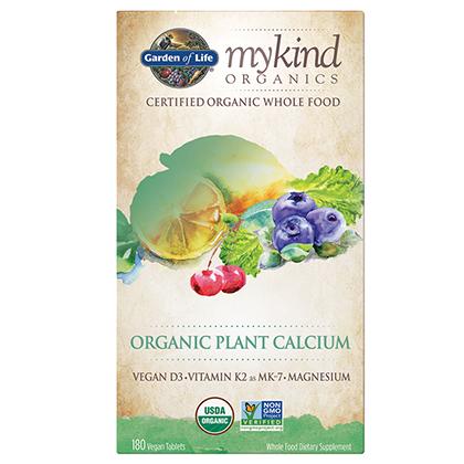 mykind Organic Calcium 180 tabs