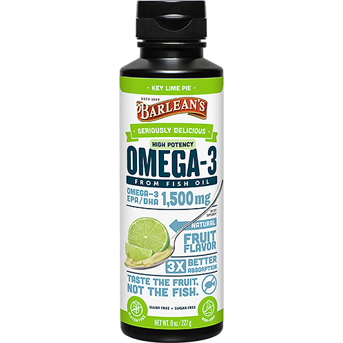 Seriously Delicious™ Omega-3 High Potency Fish Oil Key Lime Pie 8 oz.