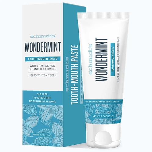 Schmidts Wondermint Toothpaste