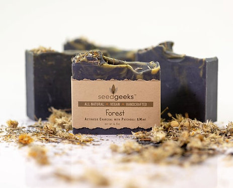 Seed Geeks, Forest Bar Soap