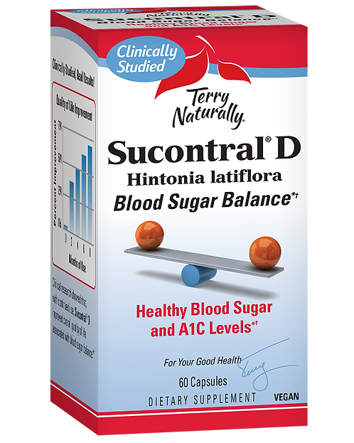 Terry Naturally, Sucontral® D 60 capsules