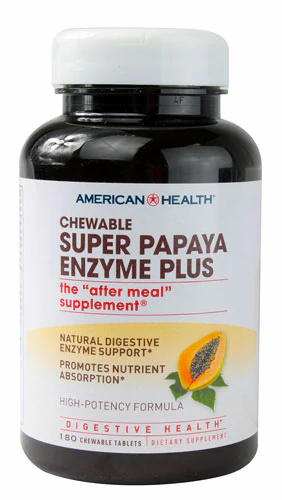 AH, Super Papaya Enzyme, 180 Tabs