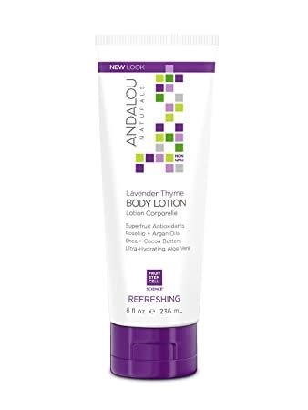 Andalou, Body Lotion, Lavender