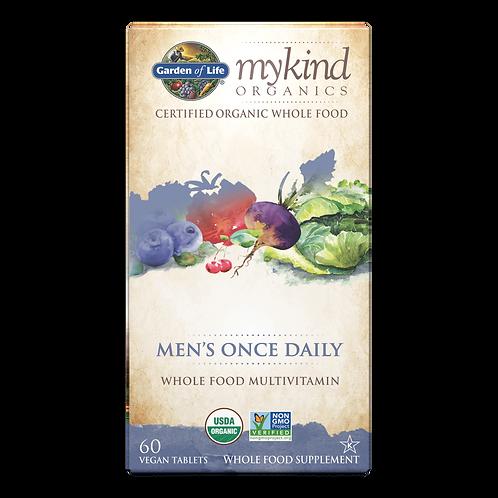 mykind Organics Men's Once Daily 60 CNT