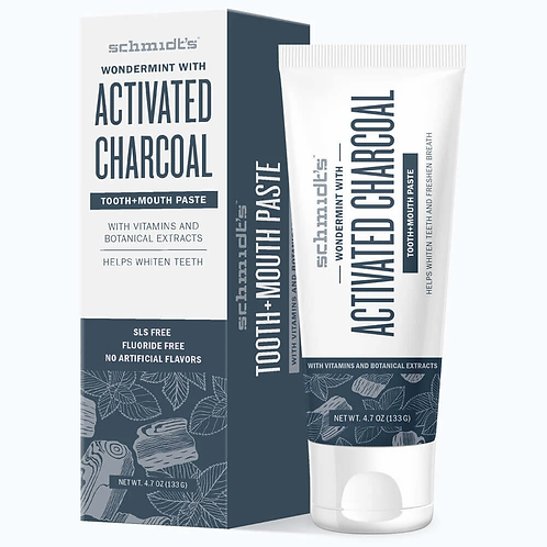 Schmidts Activated Charcoal Toothpaste