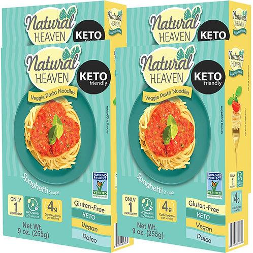 Natural Heaven Spaghetti Hearts of Palm Veggie Noodles