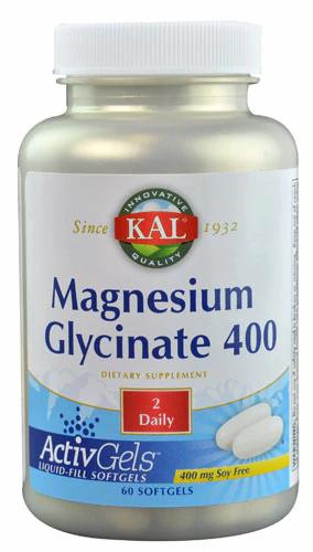 Kal, Magnesium Glycinate 400